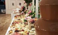 A compliment to any grazing table.  Our chocolate fountain is the icing on the cake for this event.