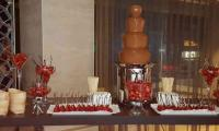 Simple but stylish.  Just what chocolate fountain dreams are made of.