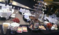 A point of difference for your guests. Hire a cascading chocolate fountain to amaze them.