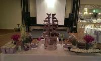 A River of Dreams chocolate fountain delivers on dreams.