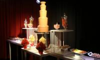 This Melbourne event had a hired chocolate fountain to turn this desert bar into something extra special.