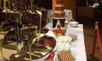 More than 1 chocolate fountain.  Why not?  When catering to larger crowds you can mix up the fountains to wow your guests.