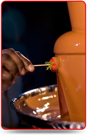 Chocolate Fondue - Chocolate Fountain Hire - Melbourne