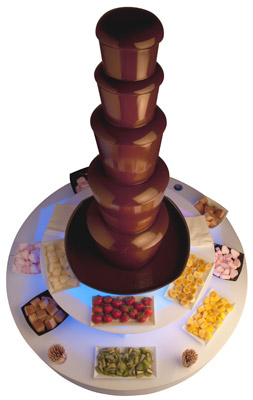 The Crowd Pleaser Chocolate Fountain